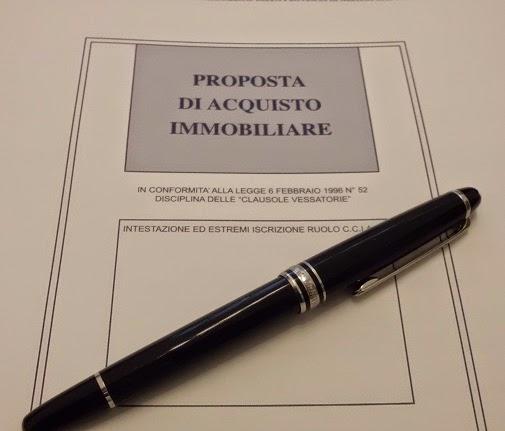 La proposta di acquisto immobile real estate - Proposta acquisto casa ...